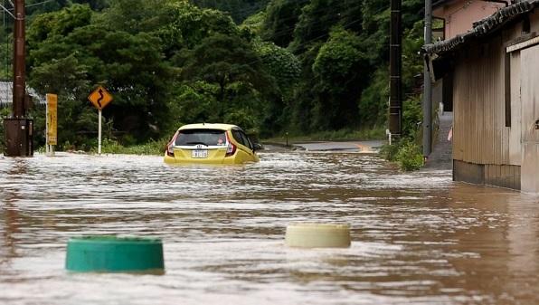 جاپان میں سیلاب اور تودے گرنے سے 44 افراد ہلاک ، متعدد لاپتہ