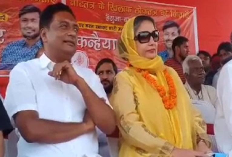 کہنیا کی حمایت میں شبانہ اعظمی اور پرکاش راج پہنچے بیگوسرائے