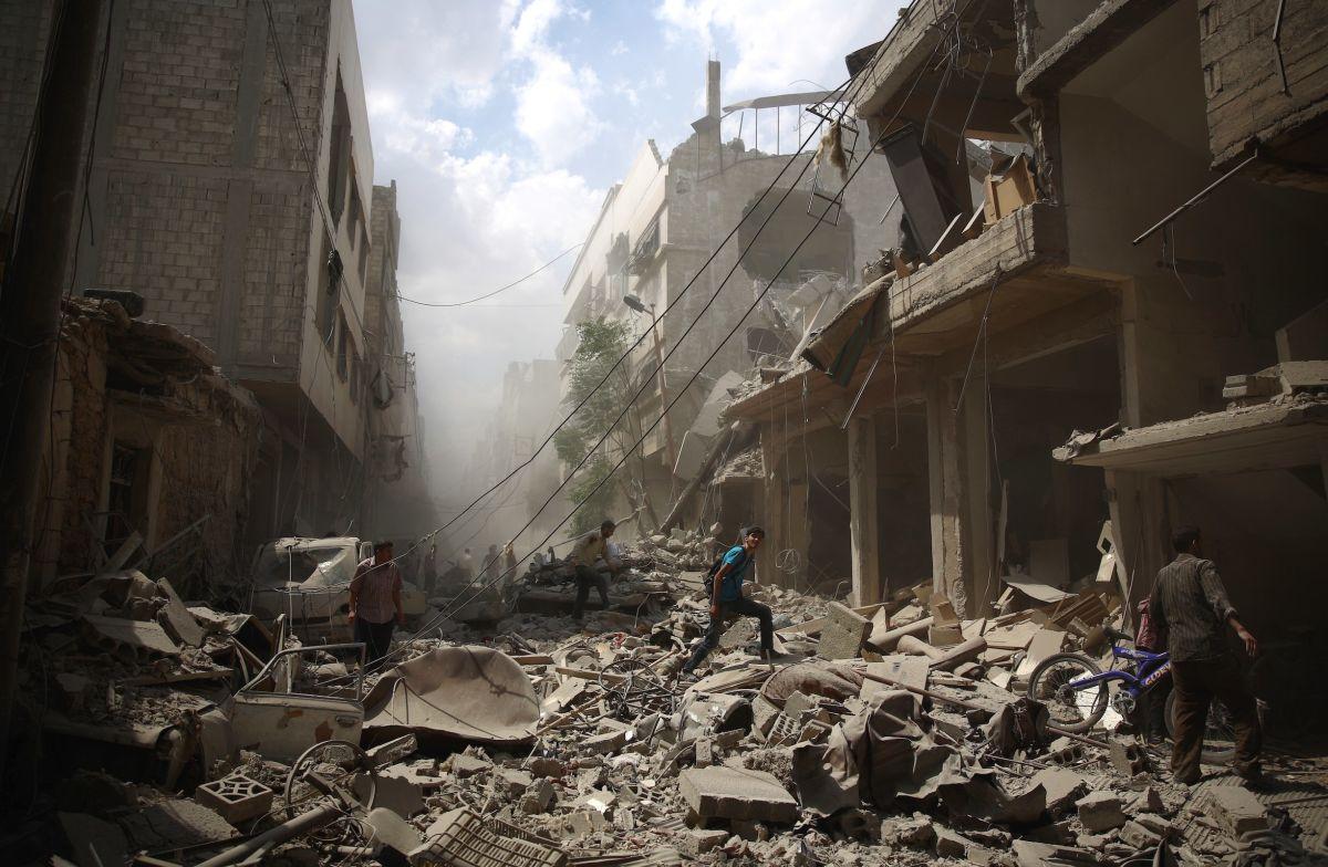 شام میں امریکی قیادت والے فضائی حملے میں 15 ہلاک