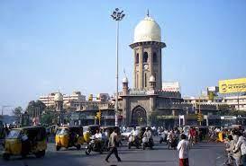حیدرآباد کے معظم جاہی مارکٹ اور عابڈس جنکشنس کی تزئین کا کام