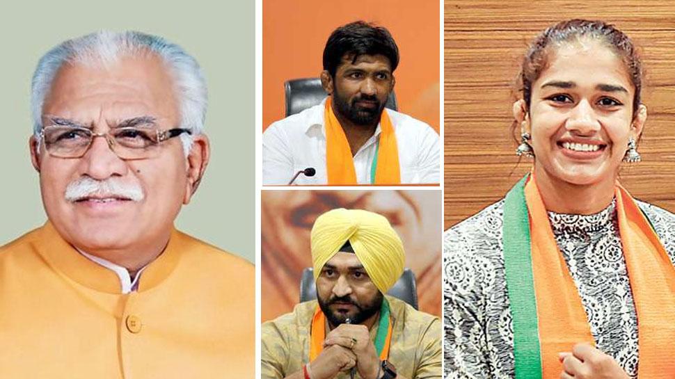 ہریانہ الیکشن: بی جے پی نے جاری کی 78امیدواروں کی فہرست