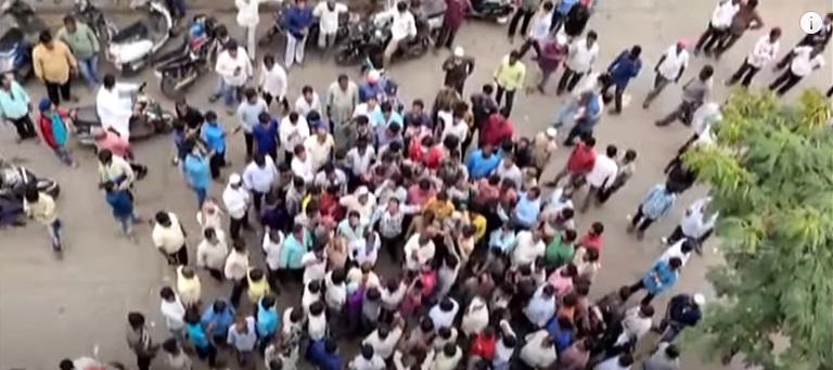 حیدرآباد کی سب سے بڑی کوتہ پیٹ فروٹ مارکٹ کی منتقلی کے خلاف احتجاج