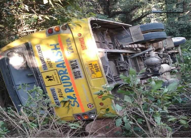 ہماچل پردیش: مودی کی ریلی میں شرکت کیلئے جارہی طلبہ سے بھری بس حادثہ کا شکار