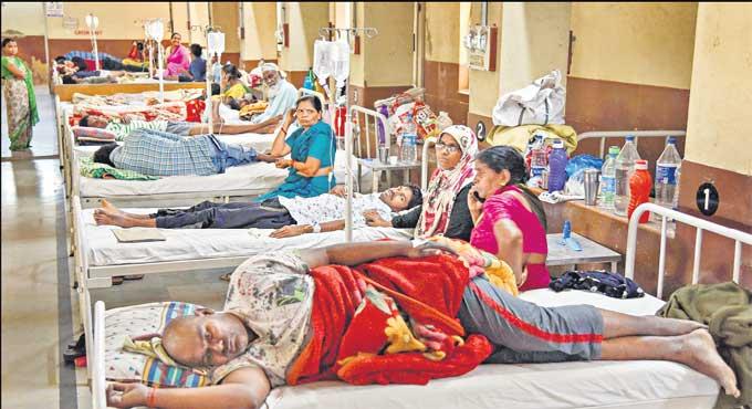 حیدرآباد میں ڈینگی ، وائرل بخار کے کیسز میں اضافہ