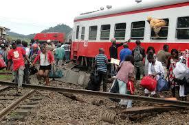 کیمرون ٹرین حادثہ: ہلاک شدگان کی تعداد بڑھ کر 55 ہوئی