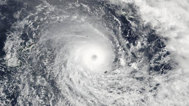 سمندری طوفان''ونسٹن''کے پیش نظر فجی میں کرفیو
