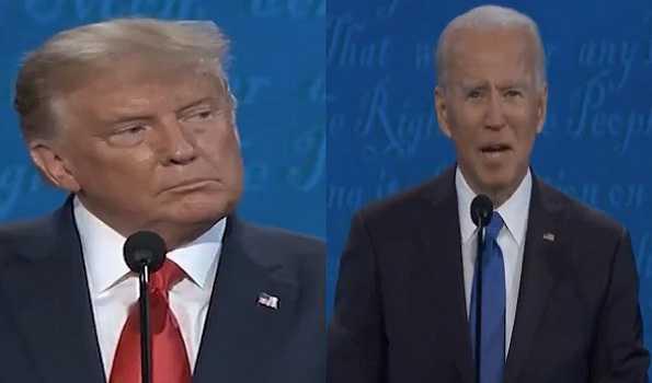 آخری صدارتی مباحثے میں ٹرمپ۔جوبائیڈن ایک دوسرے پر جم کر برسے