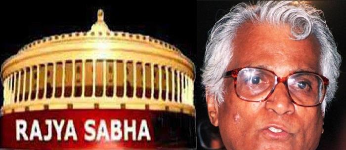 راجیہ سبھا میں فرنانڈس کو خراج عقیدت ،کارروائی کل تک کے لئے ملتوی
