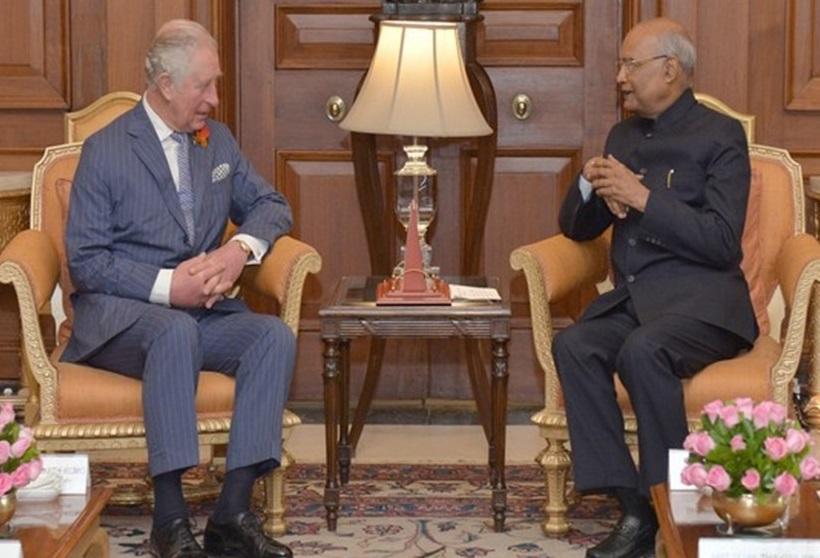 پرنس آف ویلس شہزادہ چارلس کی صدرِ جمہوریہ سے ملاقات