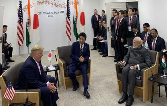 جمہوریت کے تیئں پرعزم ہیں جاپان-امریکہ - ہندوستان : مودی