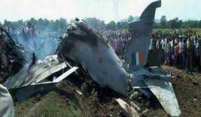فضائیہ کاجنگی طیارہ حادثہ کا شکار ،دونوں پائلٹ