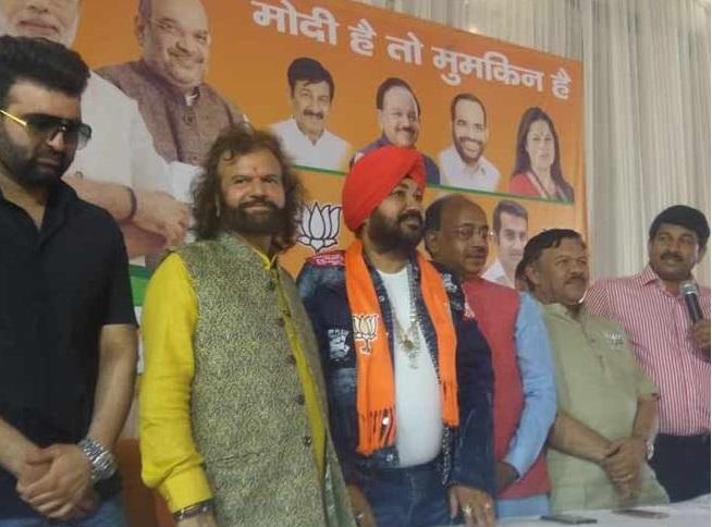 پنجابی پوپ گلوکار دلیر مہندی بی جے پی میں شامل