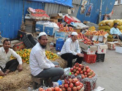 حیدرآباد کی سب سے بڑی کتہ پیٹ فروٹ مارکٹ کو دوسری جگہ منتقل کرنے کی تیاریاں