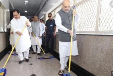 شاہ اورنڈا نے کیا ایمس میں'سروس ہفتہ' مہم کا آغاز