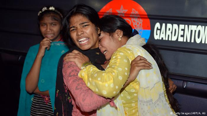 پاکستان: لاہور خود کش حملہ: ہلاکتوں کی تعداد 72 ہو گئی