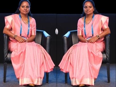 ایم پی کے کویتا بنی فیم انڈیا ایکسٹرا آرڈینری  پارلیمنٹیرین
