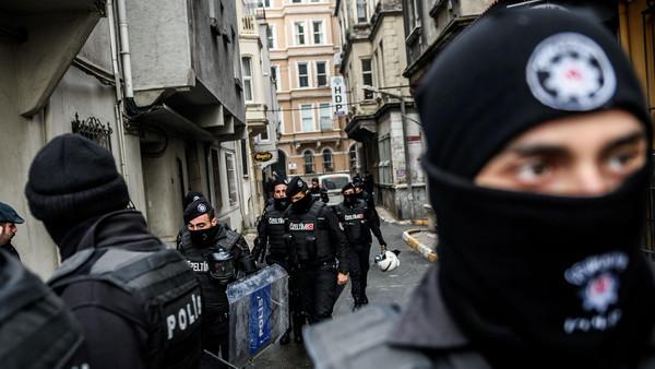 کرد جماعت کے دفتر پر ترک پولیس کی چھاپہ مار کارروائی