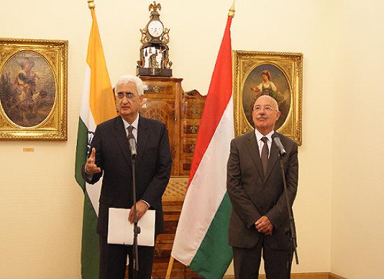 آبی بندوبست کے شعبہ میں ہندستان اور ہنگری معاہدہ کریں گے