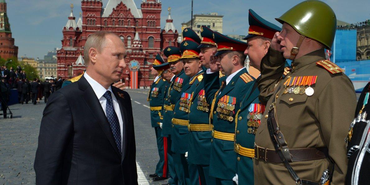 روس نے فوج کو جنگ کے لئے تیار رہنے کا حکم دیا
