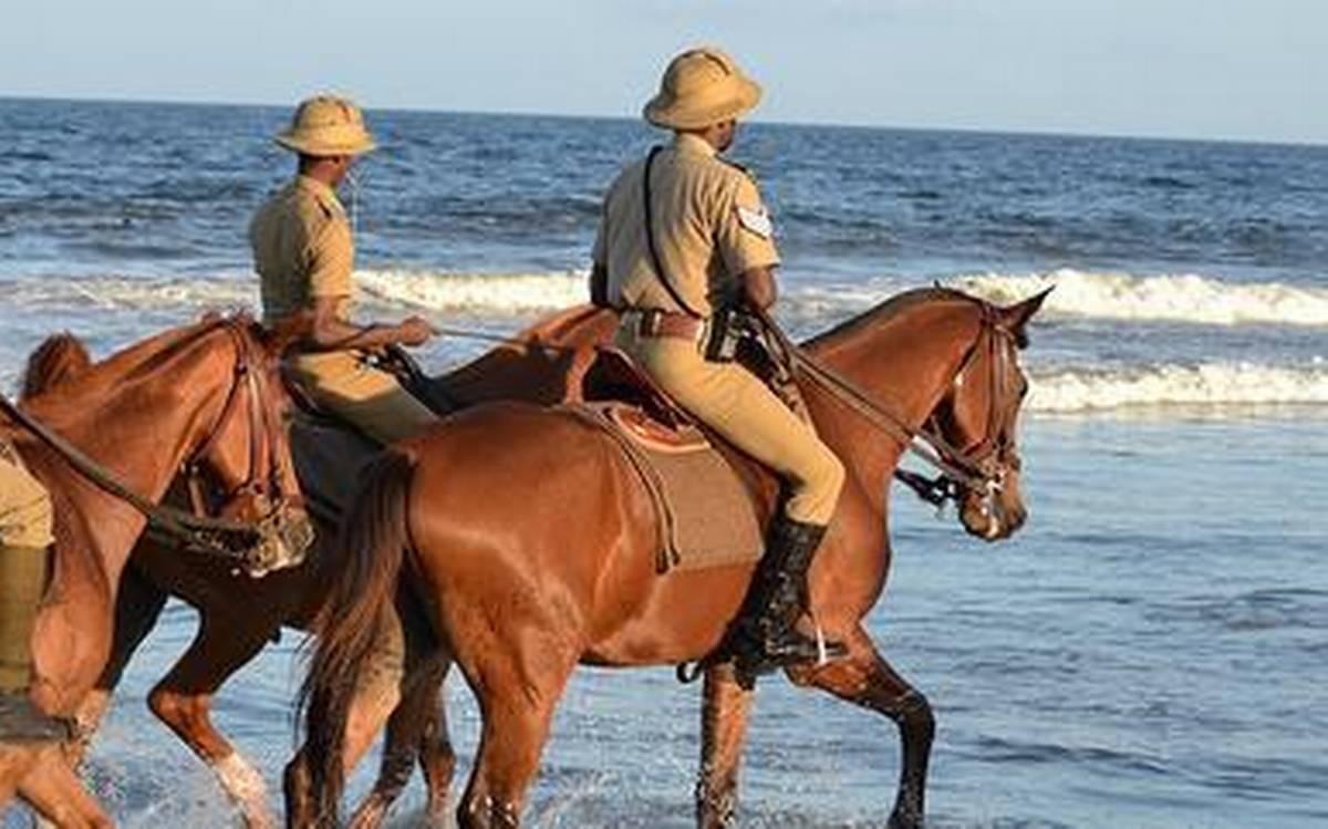 ممبئی پولیس میں گھڑسوار دستے کی شمولیت