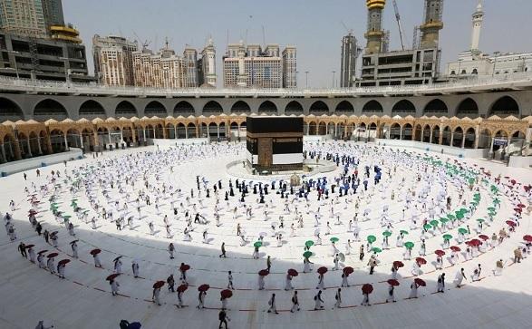 مسجد الحرام اور مسجد نبوی میں نمازعید الاضحیٰ ادا