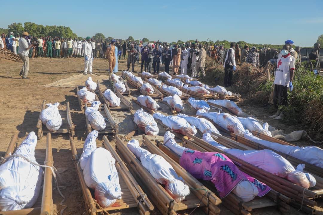 نائیجریا میں 110 لوگوں کو اجتماعی طور سے ہلاک کردیا گیا