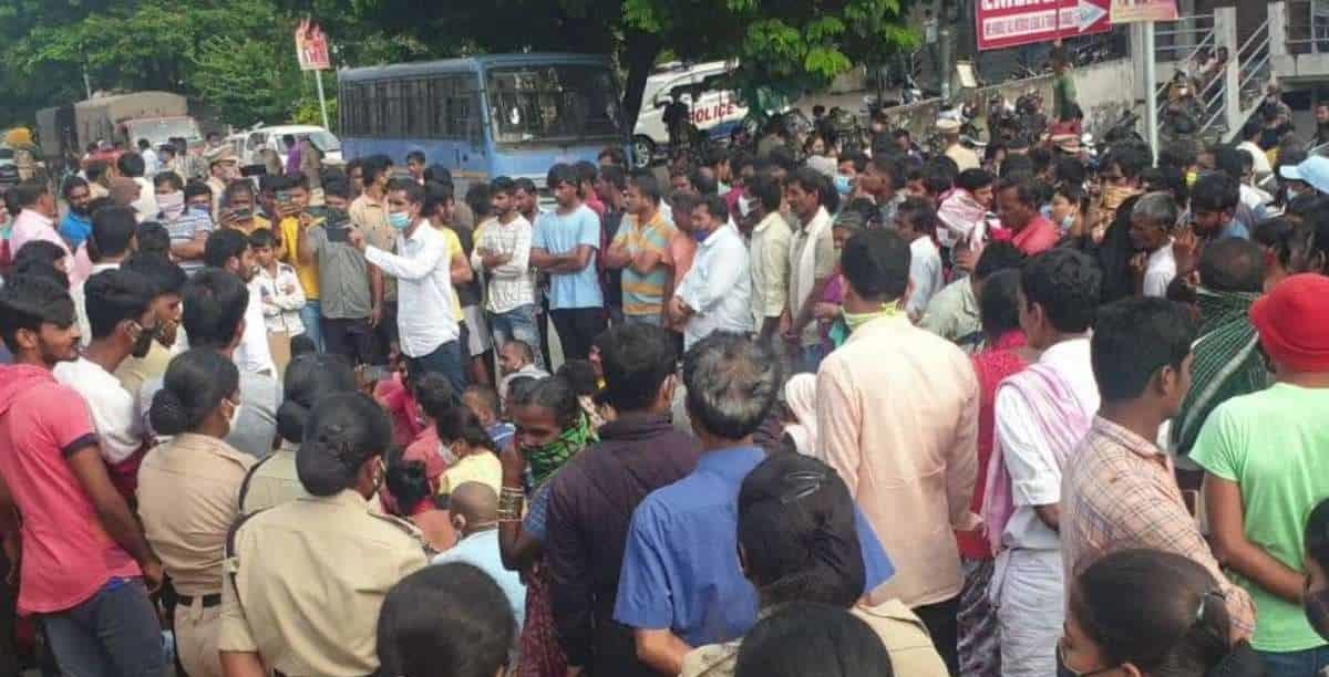 حیدرآبادکی سنگارینی کالونی میں عصمت دری۔مقامی افراد کیخلاف معاملہ درج