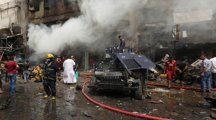 بغداد میں شیعوں کی تقریب کے مقام پر خود کش دھماکہ میں 31 افراد ہلاک