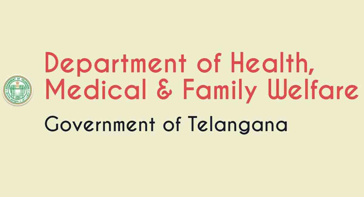 محکمہ صحت تلنگانہ نے موسمی بیماریوں پر الرٹ جاری کیا