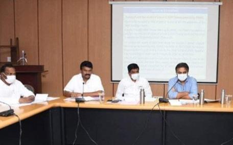 حیدرآباد میں ڈبل بیڈ روم مکانات کی تعمیر،تیزی پیداکرنے وزیر تارک راما راو کی ہدایت