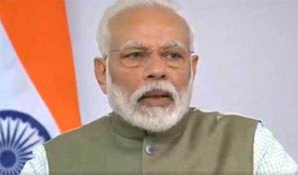 ہندوستان 'گرین ایکونومی 'کے فروغ کی قیادت کرےگا:مودی