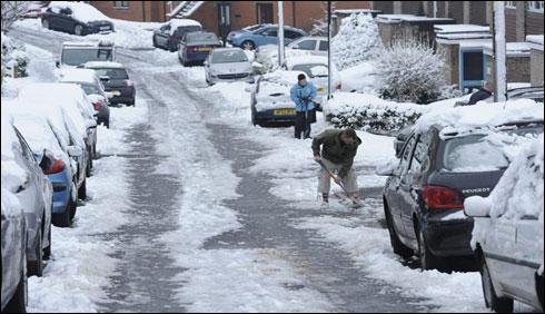 قطب شمالی سے آنیوالی سرد ہوائوں نے برطانیہ کا رخ کر لیا