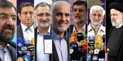 ایران میں سات امیدواروں کو صدارتی انتخاب لڑنے کی منظوری دی گئی