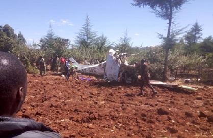 کینیا میں ہوائی جہاز حادثے میں پانچ غیر ملکی ہلاک