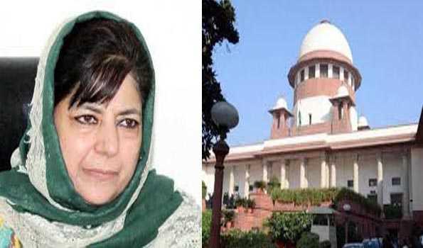 محبوبہ کی رہائی کی اپیل پر جموں و کشمیر انتظامیہ اپنا موقف واضح کرے: سپریم کورٹ