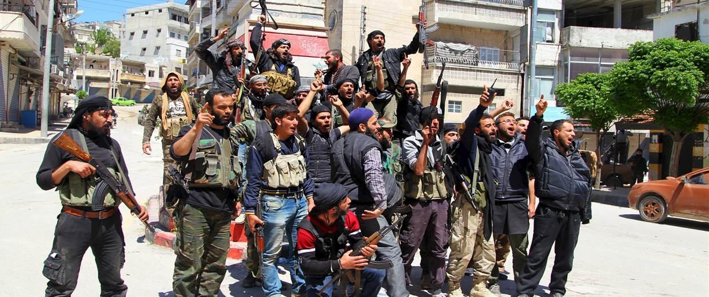 شام میں دہشت گردوں کے حملے میں 84 افراد ہلاک
