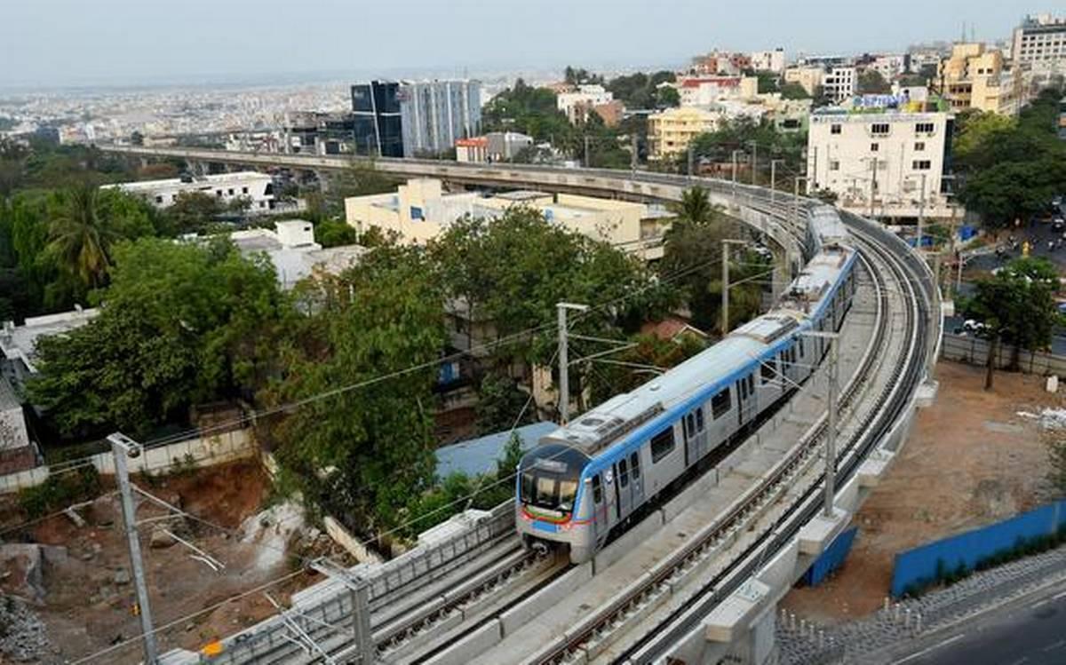 حیدرآباد میٹروریل کے اوقات میں اضافہ