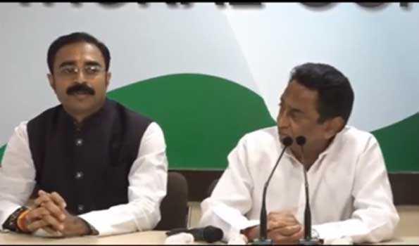 انتخابات سے پہلے شیوراج کے برادر نسبتی سنجے سنگھ نے کانگریس کا دامن تھاما