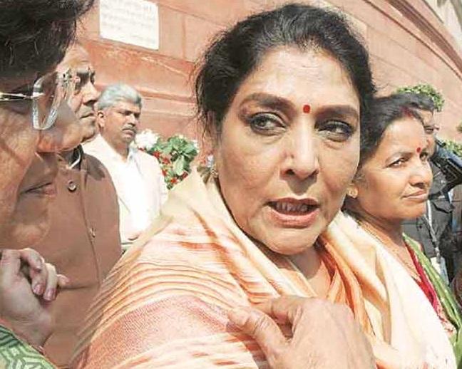 بی جے پی لیڈر نے حیدرآباد کا نام بدلنے کو کہا، رینوکا چودھری نے کہا، پہلے اپنا نام بدل لو
