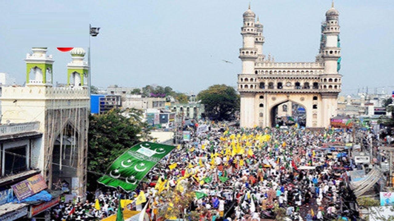 شہر حیدرآباد میں میلاد النبیؐ کا جوش وخروش