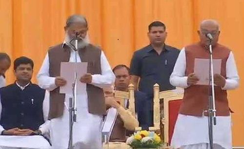 گورنر نے چھ کابینہ اور چار وزرائے مملکت کو عہدے اور رازداری کا حلف دلایا