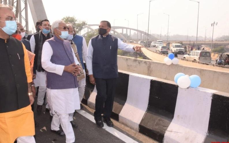 ملک کی سب سے طویل ایلیویٹیڈ ایمس۔ دیگھا شاہراہ کا وزیراعلیٰ نتیش کما رنے افتتاح کیا