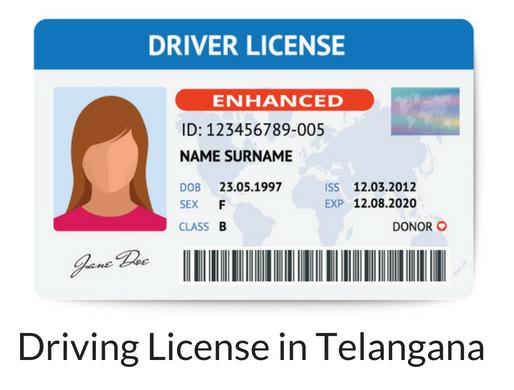 تلنگانہ میں ڈرائیونگ لائسنس کی آن لائن تجدید
