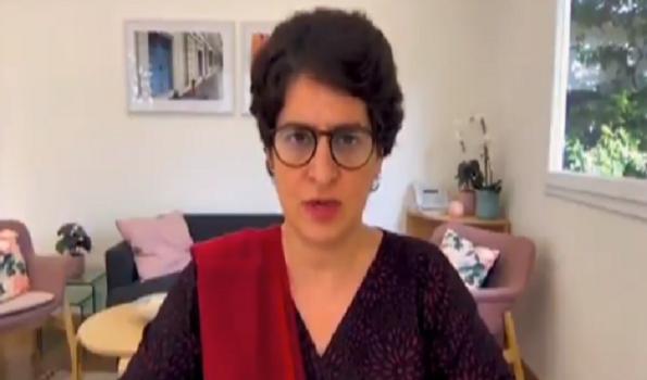 کوروناسے نجات کے لئے ٹیسٹنگ بڑھانا ضروری: پرینکا گاندھی
