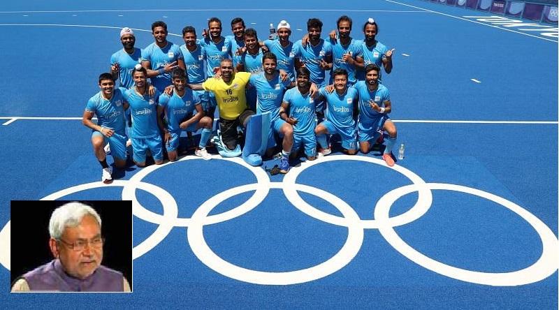 نتیش نے ہاکی ٹیم کو ٹوکیو اولمپکس میں کانسہ کا تمغہ جیتنے پر مبارکباد دی