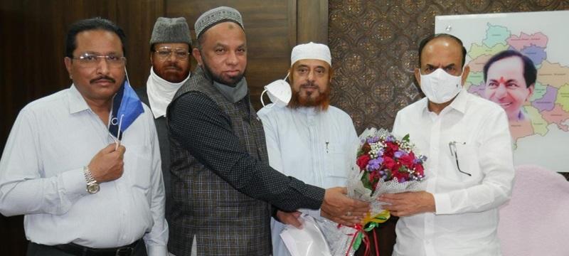 تلنگانہ سیکریٹریٹ میں مساجد کی دوبارہ تعمیر کا تیقن