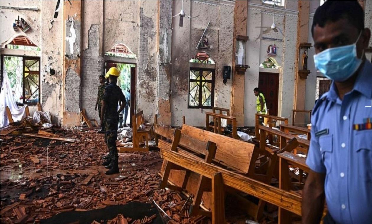 سری لنکا میں دھماکہ : مہلوکین کی تعداد 359ہوگئی