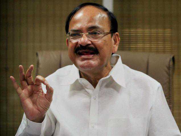 حکومت کا 'بھارت ماتا' کی جے کہنے کا کوئی سرکلر نہیں : وینکیا