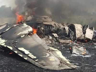 راجستھان کے جئے پور میں فوج کا مگ 27 جہاز حادثہ کا شکار