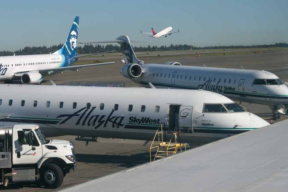 امریکہ:کمرشل طیارہ آئی لینڈ میں گر کر تباہ